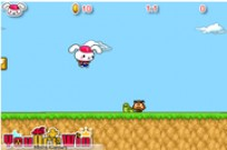 Play Cute Rabbit in Mario World game