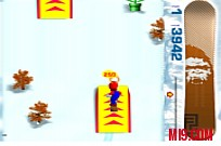 Play 3D Mario Snowboard game