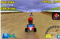 Play Mario Go Kart game
