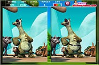 spielen Ice Age The Meltdown Spot The Difference Spiel