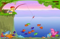 Play Funny Fishing Yeay game