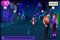Play Romantic Midnight Kiss game