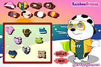 Play Baby Polar Bear Dress Up game