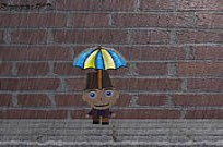 Play Umbrella Man game