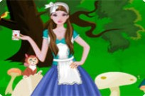 Play Alice In Wonderland Rabbit Hole game