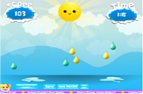Play Raindrop Rush game