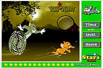 Tom e Jerry Invisível Stars Game