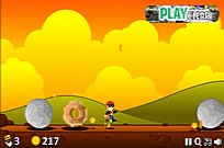 Play Rocks Falling game