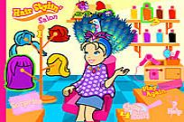 Play Polly's Hair Stylin' Salon game