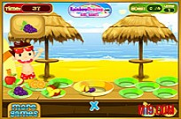 Play Beach Fruity Snack game