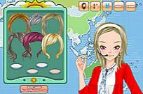 Play Weather Girl Make Up Game game