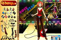 Play Rockstar Dressup 2 game