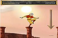 Avatar: The Last Air Bender - Aang On Spiel