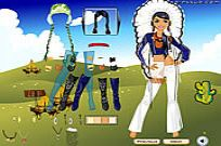 Play Native American Clothes game