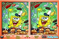 Play 6 Diff Fun Spongebob Squarepants game