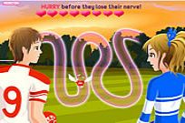 Play Highschool Sweethearts Kissing Game game
