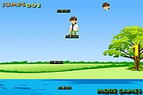 Play Ben Ten Jumping game