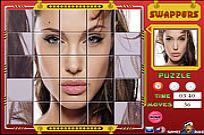 Play Swappers Angelina Jolie game