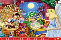 Play Hidden Numbers - Pinocchio game
