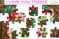 Play I Love You Puzzle game