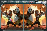spielen Kung Fu Panda 2 - Spot The Difference Spiel