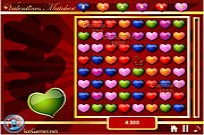 Play Valentines Matcher game