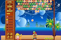 Play Mario Bubble Shooter game