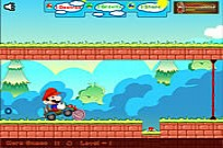 Play Mario Car Run game