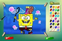 Play Spongebob With Jelly Fish game