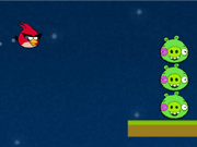 Play Angry Birds Space Online game