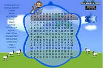 spielen Word Search Gameplay 1 - Asien Spiel