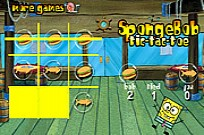 Play SpongeBob Tic Tac Toe game