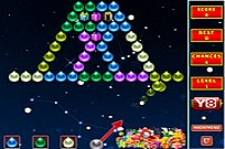 Spelen Bubble Shooter Xmas Fun spel