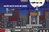 Play Balloons Vs Zombies game
