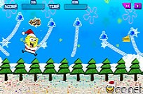 Play Swinging SpongeBob Xmas game