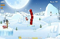 Play Angry Birds Space Xmas game