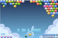 Bewolkt-Bubbles Game