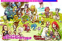 Play Cartoon Legends Hidden Letters game
