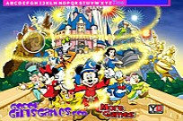 Play Walt Disney Hidden Alphabets game