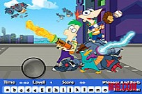 Play Phineas And Ferb Hidden Letters game