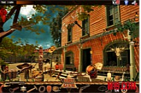 Play Gun Town Hidden Objects game