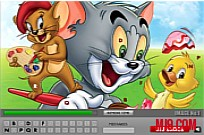 Tom and Jerry: Find Hidden Letters Game