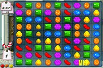 играя Candy Crush игра