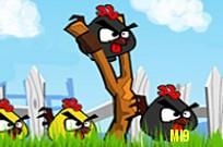 Play Angry Birds Rooster Revenge game