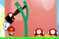 Play Angry birds Mushrooms game