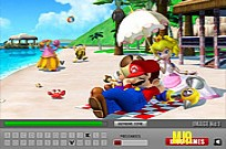 Play Super Mario Hidden Letters game
