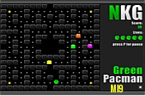 Play Green Pacman game