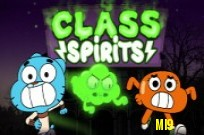 Play Gumball :  Class Spirits game