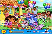 Play Treasure Hunt - Dora game
