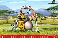 Play Hidden Numbers - Madagascar game